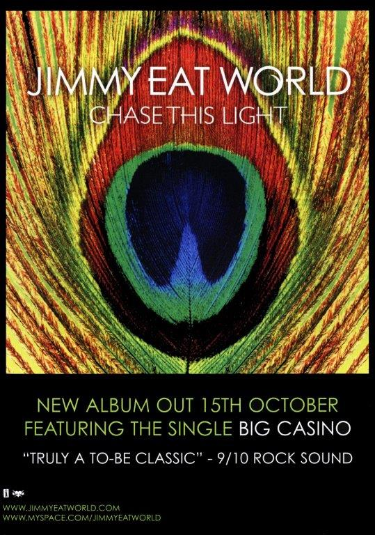 JIMMY EAT WORLD Chase This Light Poster | prints4u