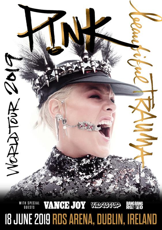 Pink World Tour adds dates for 2019