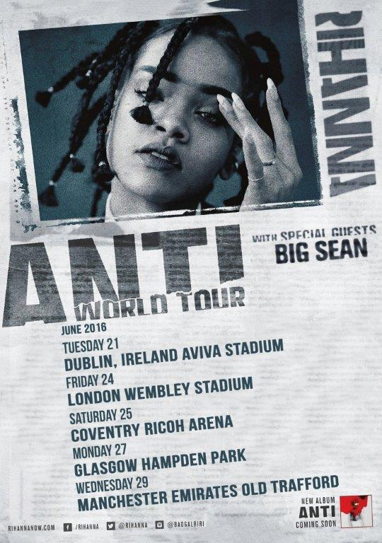 Rihanna Anti Poster