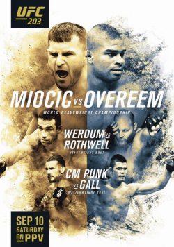 UFC 220 Stipe Miocic vs Francis Ngannou PHOTO Print POSTER Daniel Cormier MMA