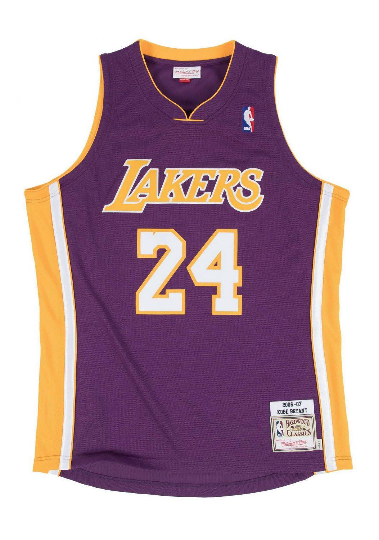 KOBE BRYANT 2006-07 Los Angeles Lakers Jersey Poster | prints4u