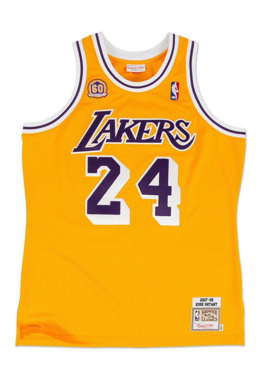 KOBE BRYANT 2007-08 Los Angeles Lakers Jersey Poster | prints4u