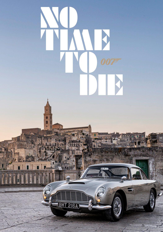 James Bond No Time To Die Aston Martin Poster Prints4u