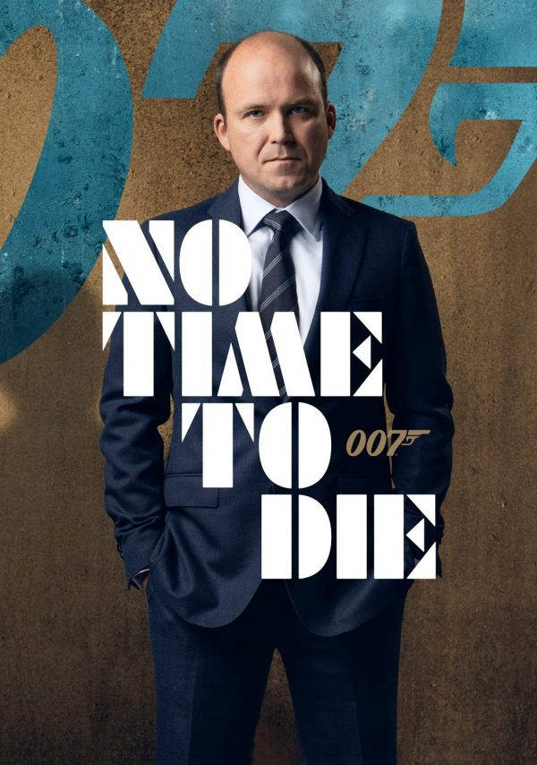 No Time To Die James Bond Movie Poster Iron On T-Shirt Transfer A5
